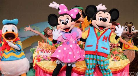 Tiket Disneyland Disneysea Tokyo 1 Day Pass Tiket Fisik Junior tokyo disneyland or disneysea 1 day pass klook