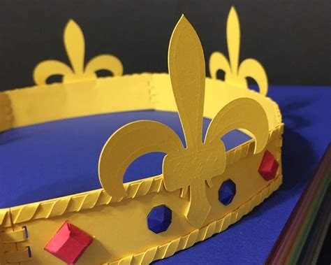 Papercraft Crown - papercraft crown origami and paper crafts amino