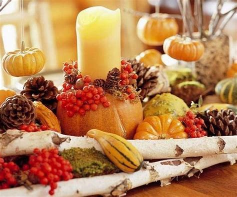 creative fruit thanksgiving table centerpiece decorating