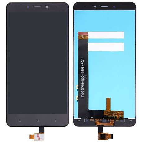 Lcd Xiaomi Redmi 4 xiaomi redmi note 4 touchscreen lcd black בירושלים