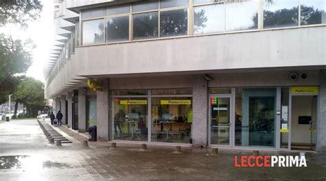 ufficio postale lecce chiude l ufficio postale di viale leopardi ma 232 per