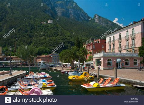 paddle boat rental on canal riva boat stock photos riva boat stock images alamy
