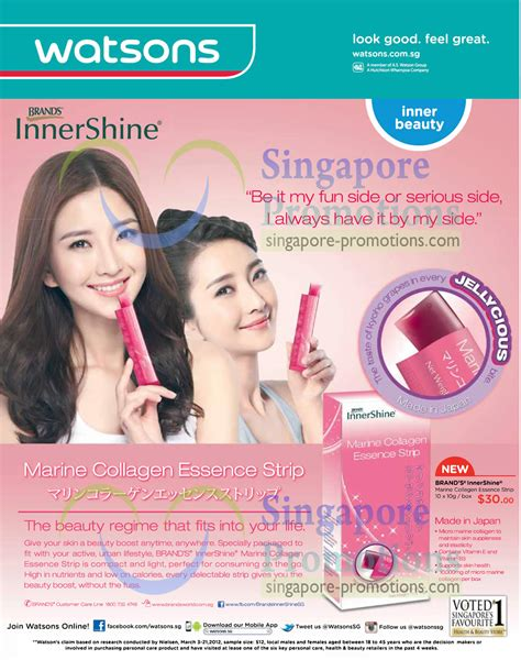 Innershine Collagen by Innershine Marine Collagen Essence 187 Watsons Personal Care