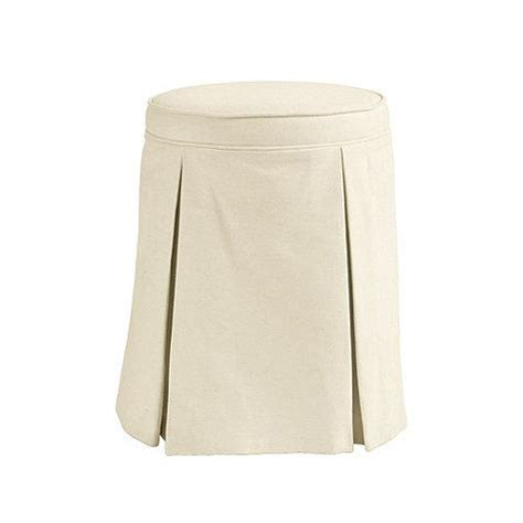 skirted vanity chair joanna vanity stool i frontgate