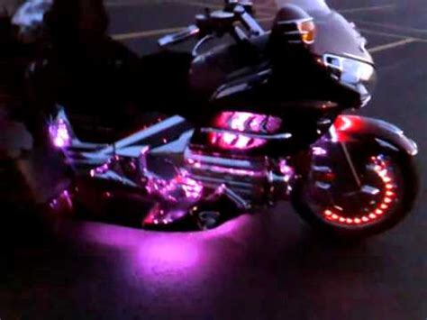boogey lights on gold wing trike youtube