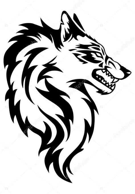 狼纹身在孤立的白色背景 图库照片 169 onionime 90206744