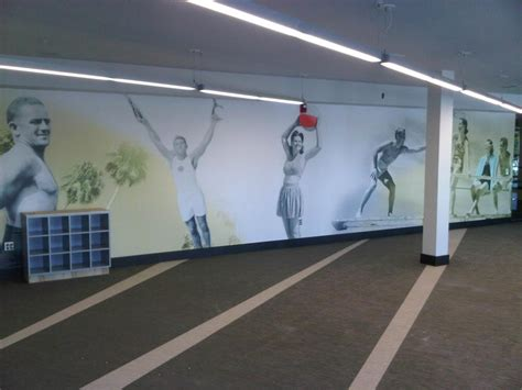 wallpaper for gym walls pinellas sign manufacturer wall graphics