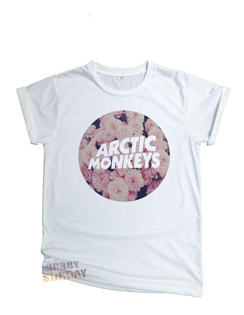 Pajangan Dinding Arctic Monkeys Vintage arctic monkeys floral vintage band rock t shirt unisex cotton blend size s m l