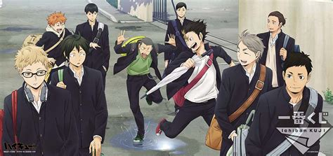 film volleyball anime yoshi x2 new haikyuu illustrations for the upcoming