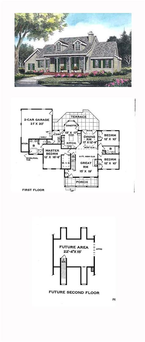 cape cod house plans with first floor master bedroom cape cod house plans with master bedroom on first floor
