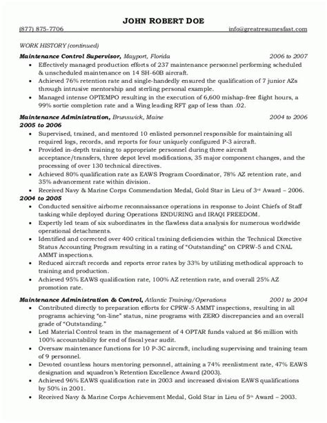 government job resume template resume example
