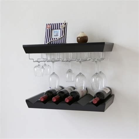 Wine Glass Wall Shelf by 404 Not Found 1