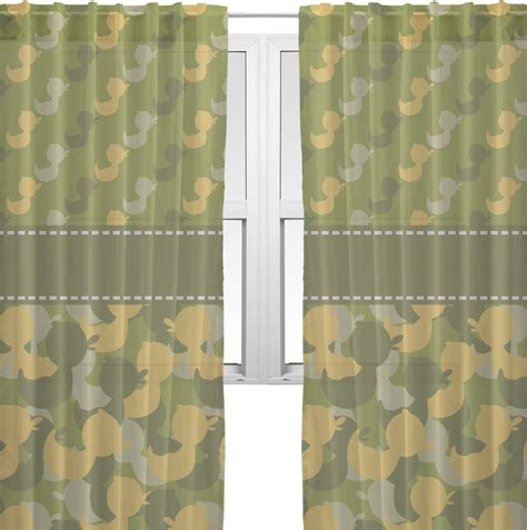 camo sheer curtains rubber duckie camo sheer curtains 60 quot x84 quot personalized