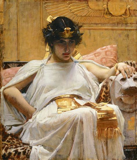 By John William Waterhouse Cleopatra | file cleopatra john william waterhouse jpg wikipedia