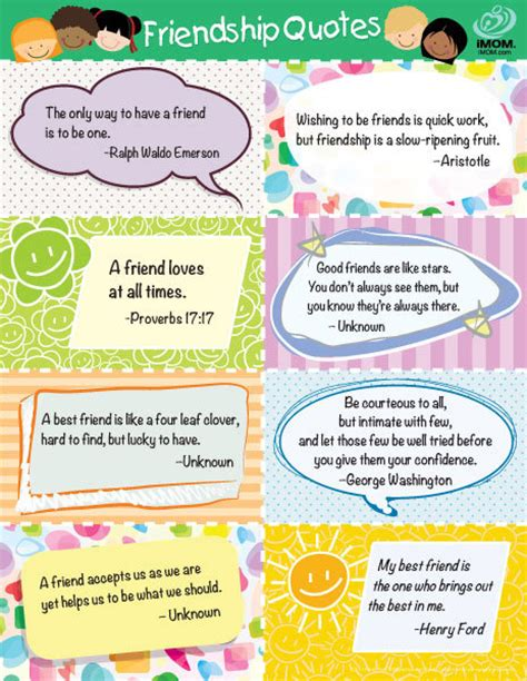 printable quotes about friendship favorite friendship quotes for kids printable