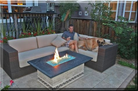 build a gas pit table clean burning outdoor firepits propane burner authority
