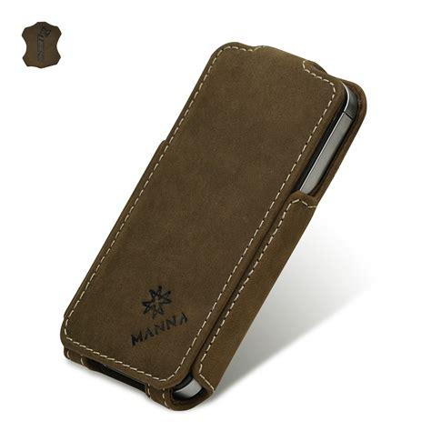 fundad iphone 4 leicke manna funda de piel para iphone 4 y iphone 4s