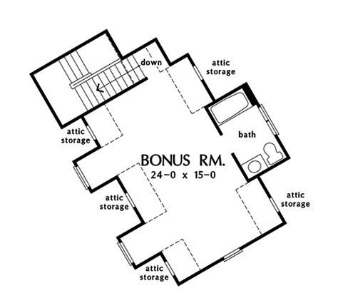 garage floor plans with bonus room plan of the week angled garages houseplansblog
