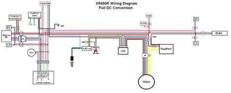 xr650l headlight wiring diagram wiring diagram with