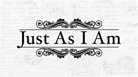 Just As I Am just as i am pt 3 on vimeo
