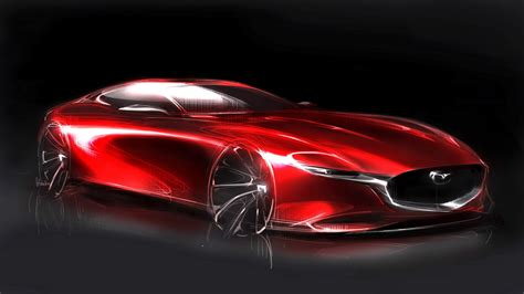is mazda an car mazda s geneva showing of rx vision has us yelling just