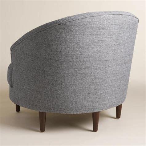 Half Circle Chair by Gray Seren Chair And A Half World Market