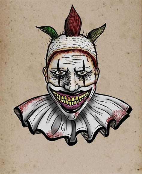 bali tattoo horror stories ahs freak show twisty on behance american horror
