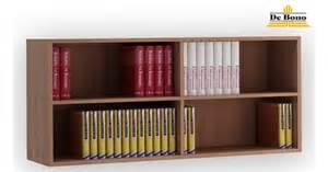 wall hung book rack with open rack shelf