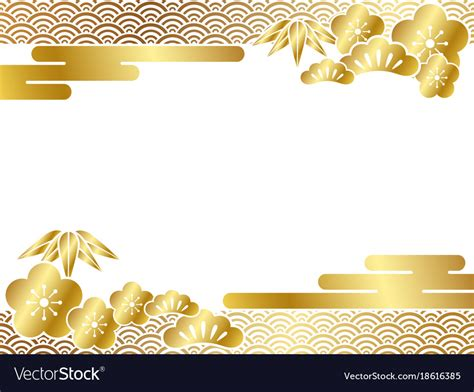 japanese new year card template 2015 a japanese new years card template royalty free vector image