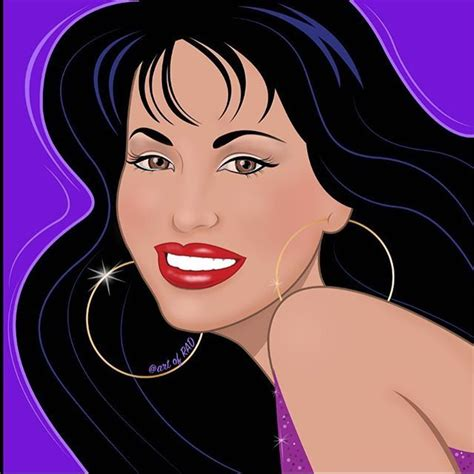 Selena Q Drawing by Selena Quintanilla Drawing