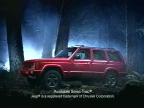 jeep cherokee ads 97 cherokee commercial mp4 youtube