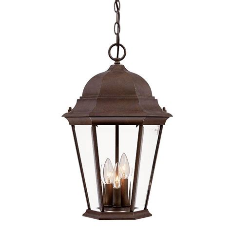 Home Depot Outdoor Lighting by Acclaim Lighting Dover Collection Hanging Outdoor 1 Light
