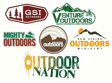 outdoor brand logos outdoor logo inspiration not sure if i d want to use any