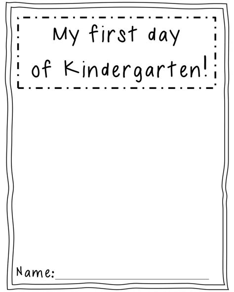 activities kindergarten first day first day activities in kindergarten