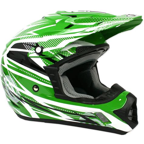green motocross helmet thh tx 12 tx12 9 bolt mx enduro moto x acu gold bike