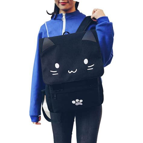 Tas Ransel Fashion White tas ransel wanita model cat black white