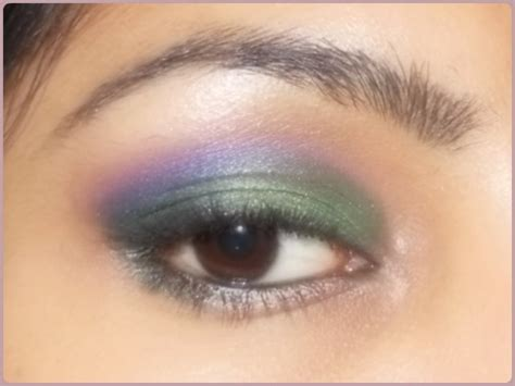 Eyeshadow A Seri E o mania series part 11 green and purple eye makeup fashion lifestyle
