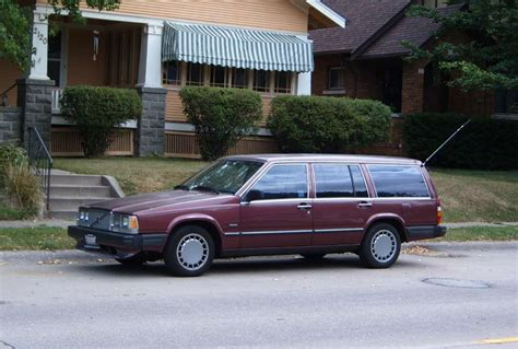 volvo station wagon our ex curbside 1989 volvo 740gl station wagon