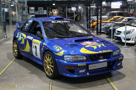 subaru wrc for sale colin mcrae s subaru impreza wrc is up for sale