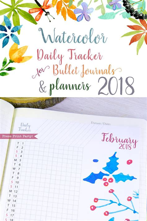 2018 the ultimate planner habit tracker and journal books 2018 daily tracker for bullet journals planners habit
