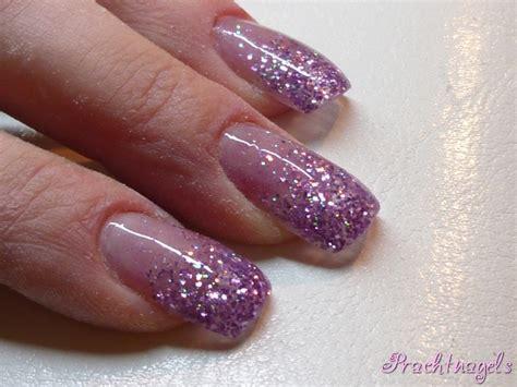 Glitter Nagels by Gradi 235 Nt Glitter Lila Met Fijne En Grove Glitter Gel