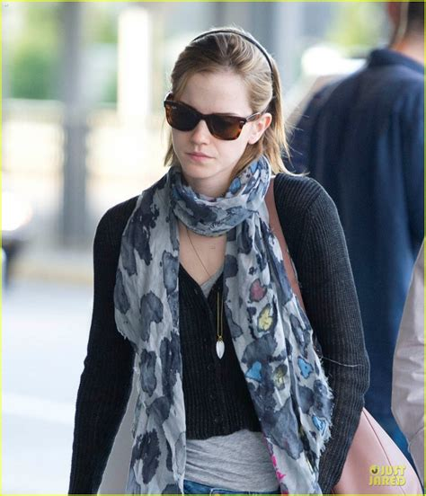 Emma Watson Just Jared | full sized photo of emma watson jfk departure 05 photo