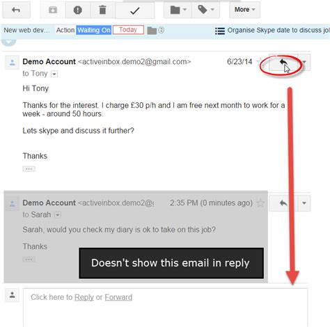 Tip Check For Messages by Gmail Tip Keep Replies Within A Conversation
