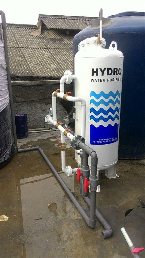 Filter Air Industri pemasangan filter air industri hydro stn 4 di kapuk muara