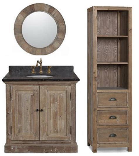 Recycled Bathroom Vanities by Restoration Bathroom Vanities A New Twist On A