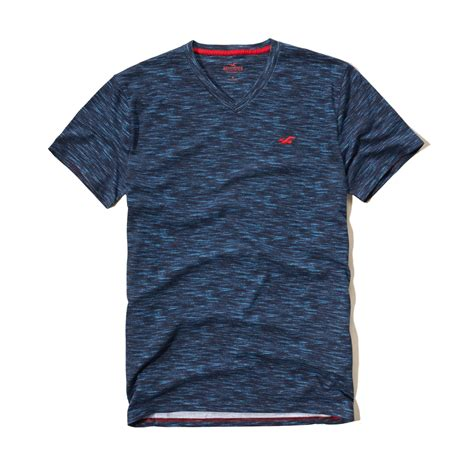 7 Must Shirts by Lyst Hollister Must V Neck T Shirt In Blue For