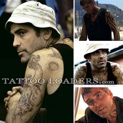 george clooney from dusk till dawn tattoo george clooney loaders designs