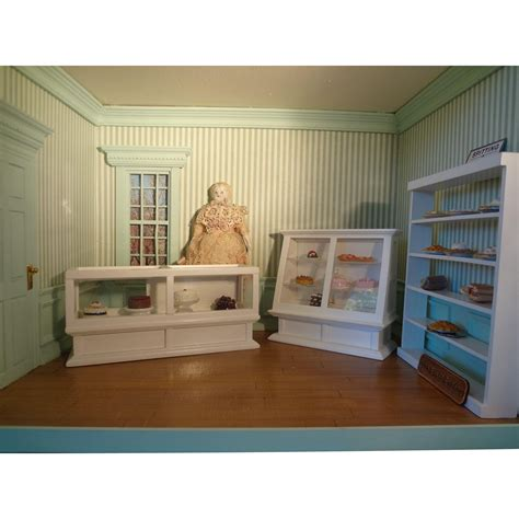 doll house scale bakery shop roombox doll house scale in miniature from