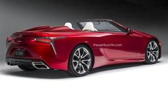 lexus lc 500 convertible digital rendering and future variants