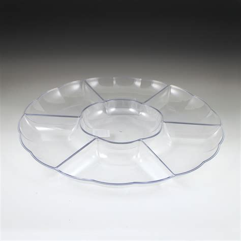 sectional trays 18 quot sovereign sectional tray plastic cups utensils